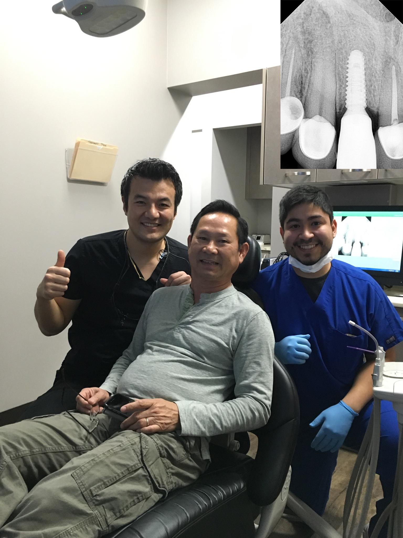 After struggling for years to find a good dentist in Houston, I've finally found it in New Smiles! I can't put in words how happy I am with Dr.Hwang! Thank you for your professional work done, Dr.Hwang! - Robert D.